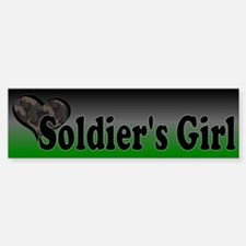 Soldier's Girl Bumper Bumper Sticker