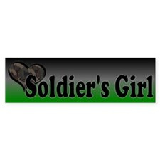 Soldier's Girl Bumper Sticker