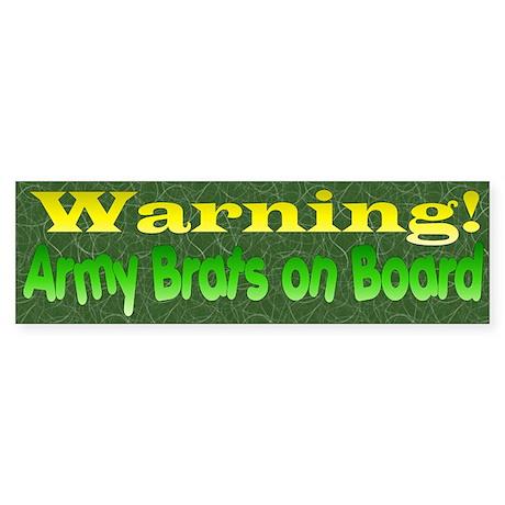 Army Brats Sticker (Bumper)