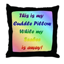 Cuddle Seabee Throw Pillow