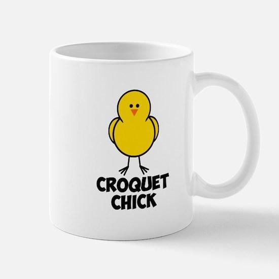 Croquet Chick Mug