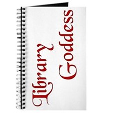 Red Library Goddess Journal