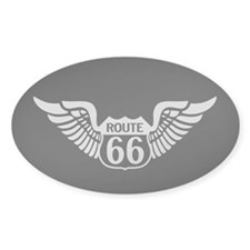 Route 66 Wings Decal