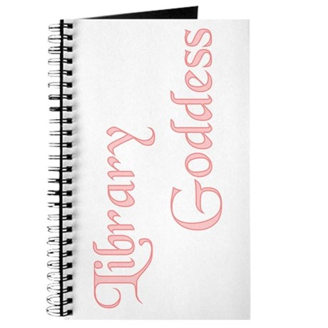 Pink Lbrary Goddess Journal