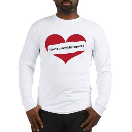 Red Heart Contemporary Long Sleeve T-Shirt