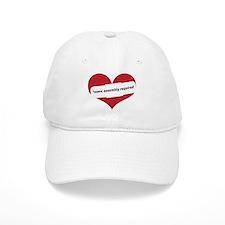 Red Heart Contemporary Baseball Cap
