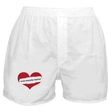 Red Heart Contemporary Boxer Shorts