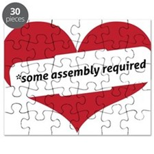Red Heart Contemporary Puzzle