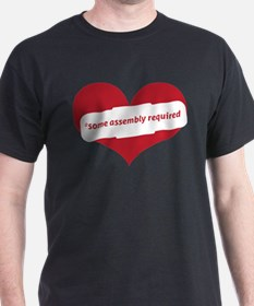 Red Heart Contemporary T-Shirt