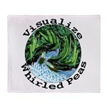 Visualize Whirled Peas Throw Blanket