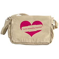 Red Heart Contemporary Messenger Bag