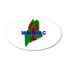 Mainiac 22x14 Oval Wall Peel