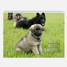 Noble Acres 2012 Wall Calendar