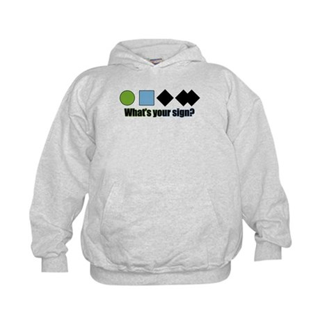 What's your sign? Kids Hoodie