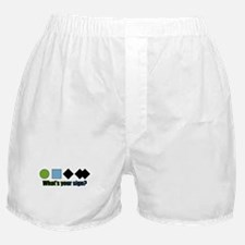 What's your sign? Boxer Shorts