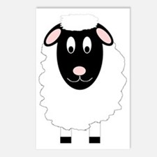 Sheep Design Postcards (Package of 8)
