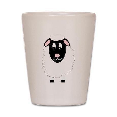 Sheep Design Shot Glass