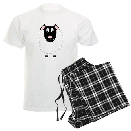 Sheep Design Men's Light Pajamas