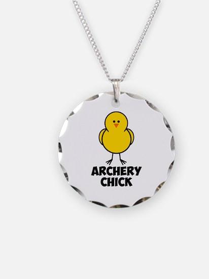 Archery Chick Necklace