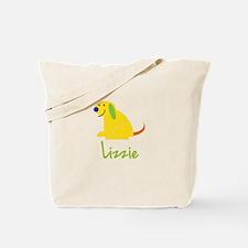 Lizzie Loves Puppies Tote Bag