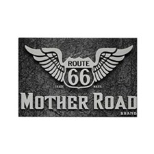 Mother Road - Route 66 Rectangle Magnet