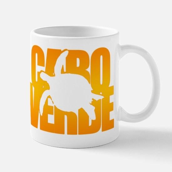 Cape Verde Turtle Orange Mug