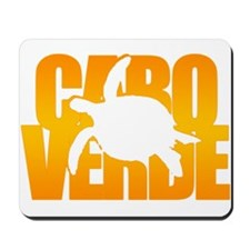 Cape Verde Turtle Orange Mousepad
