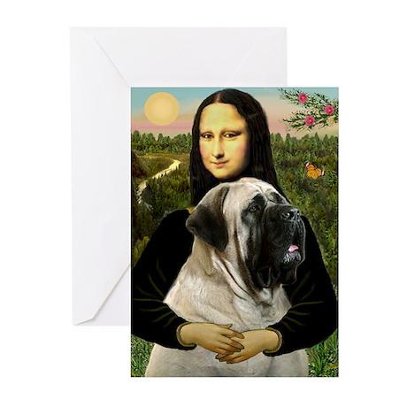 Mona's Bull Mastiff Greeting Cards (Pk of 10)