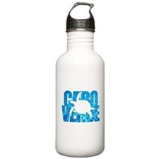 Cape Verde Turtle Blue Water Water Bottle