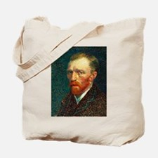Van Gogh Self Portrait Tote Bag