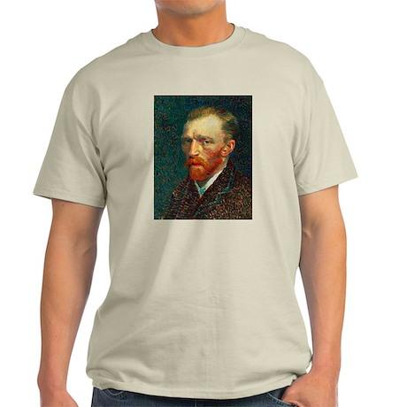 Van Gogh Self Portrait Light T-Shirt