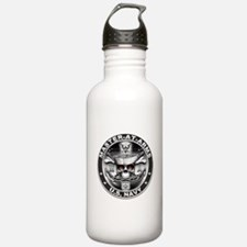 USN Master-At-Arms SkulMA Dol Water Bottle