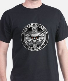 USN Master-At-Arms SkulMA Dol T-Shirt