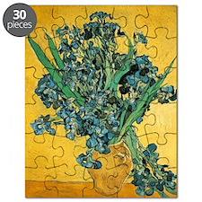 Irises in Vase Puzzle
