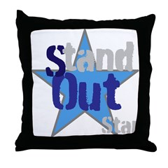 OYOOS Stand Out Star design Throw Pillow