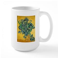 Irises in Vase Ceramic Mugs