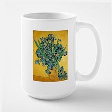 Irises in Vase Mug