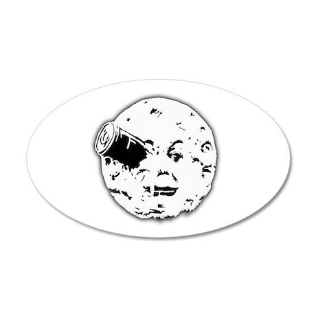 Le Voyage dans la Lune Hugo Moon Man Rocket 38.5 x