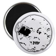 Le Voyage dans la Lune Hugo Moon Man Rocket Magnet