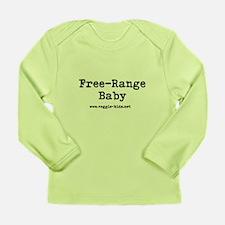 Cool Veggie kids Long Sleeve Infant T-Shirt
