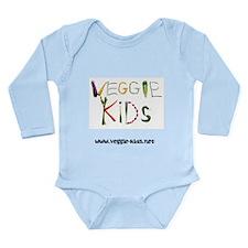 Cute Plant based diet Long Sleeve Infant Bodysuit