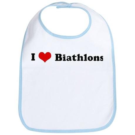 I Love Biathlons Bib