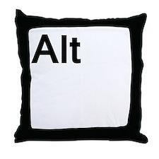 alt Throw Pillow