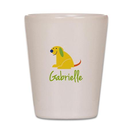 Gabrielle Loves Puppies Shot Glass