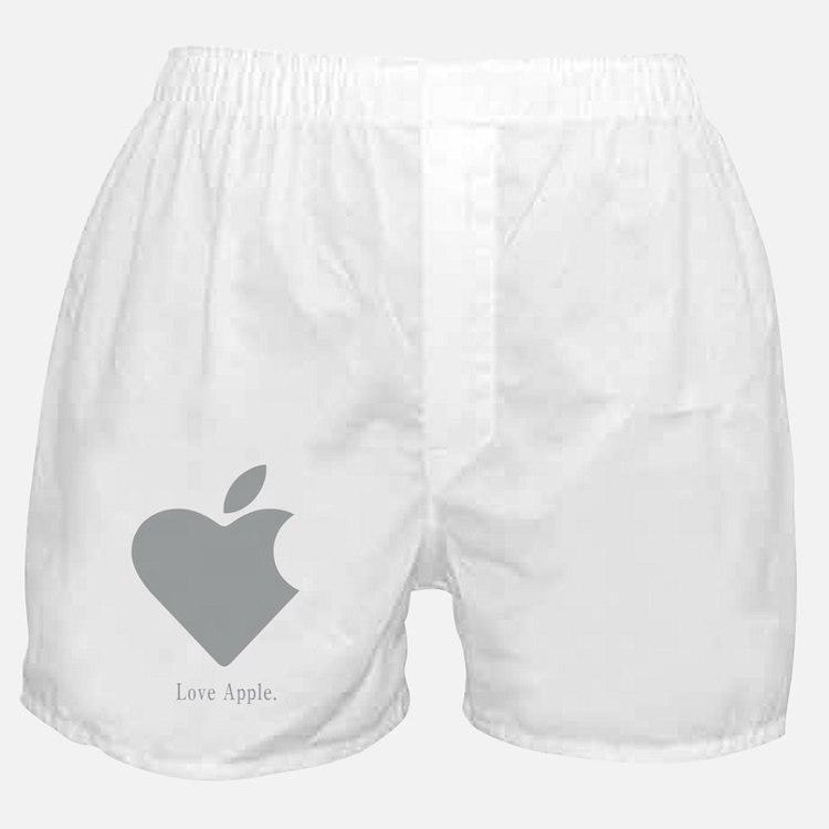 Love Apple Boxer Shorts