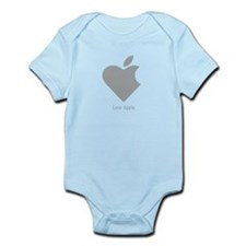 Love Apple Infant Bodysuit