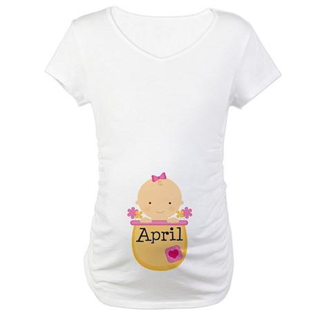 April Baby Maternity T-Shirt