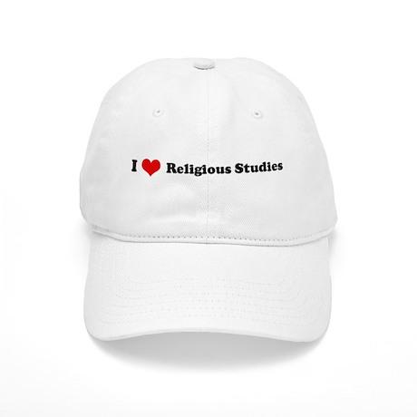 I Love Religious Studies Cap