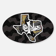 Texas Guitar Decal