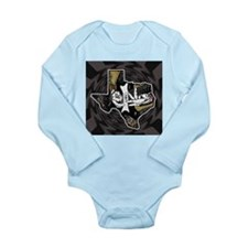 Texas Guitar Long Sleeve Infant Bodysuit